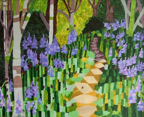 Bluebell Wood and Mystery Path
