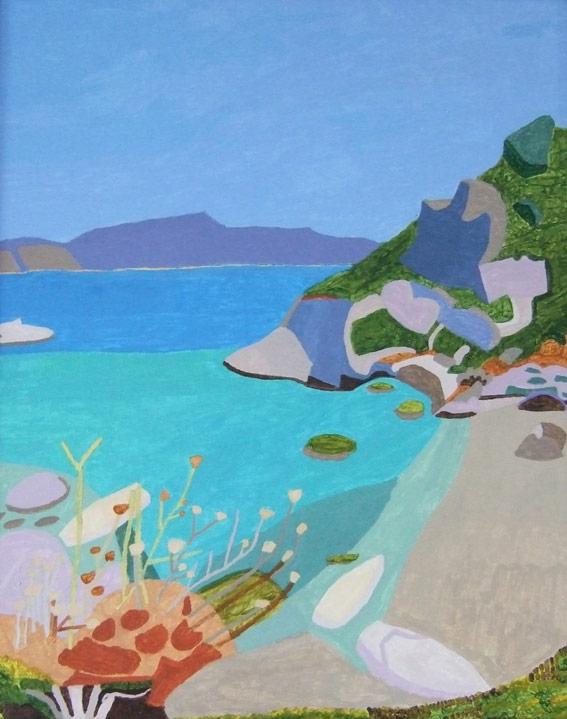 Turquoise Sea - Greece