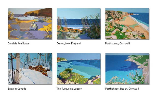 Taz_Paintings_Greeting_Cards_5x7