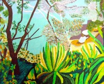 Taronga, Sydney, £250: Acrylic 40 x 50 cms